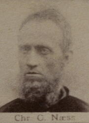Borhauer Christian O. Næss (1838-1901) (Foto/Photo)