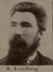 Borhauer August Lundberg (1847-1903) (Foto/Photo)