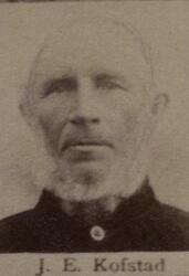 Pukkverksarbeider Isak E. Kofstad (1826-1901) (Foto/Photo)