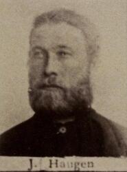 Ertssjeider Jacob G. Haugen (1855-1918) (Foto/Photo)