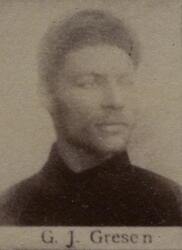 Borhauer Gustav J. Gresen (1857-1936) (Foto/Photo)
