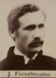 Borhauer Jørgen Finnebraaten (1858-1914) (Foto/Photo)