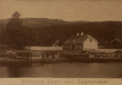 Historisk bilde, Saggrenda dammen (Foto/Photo)