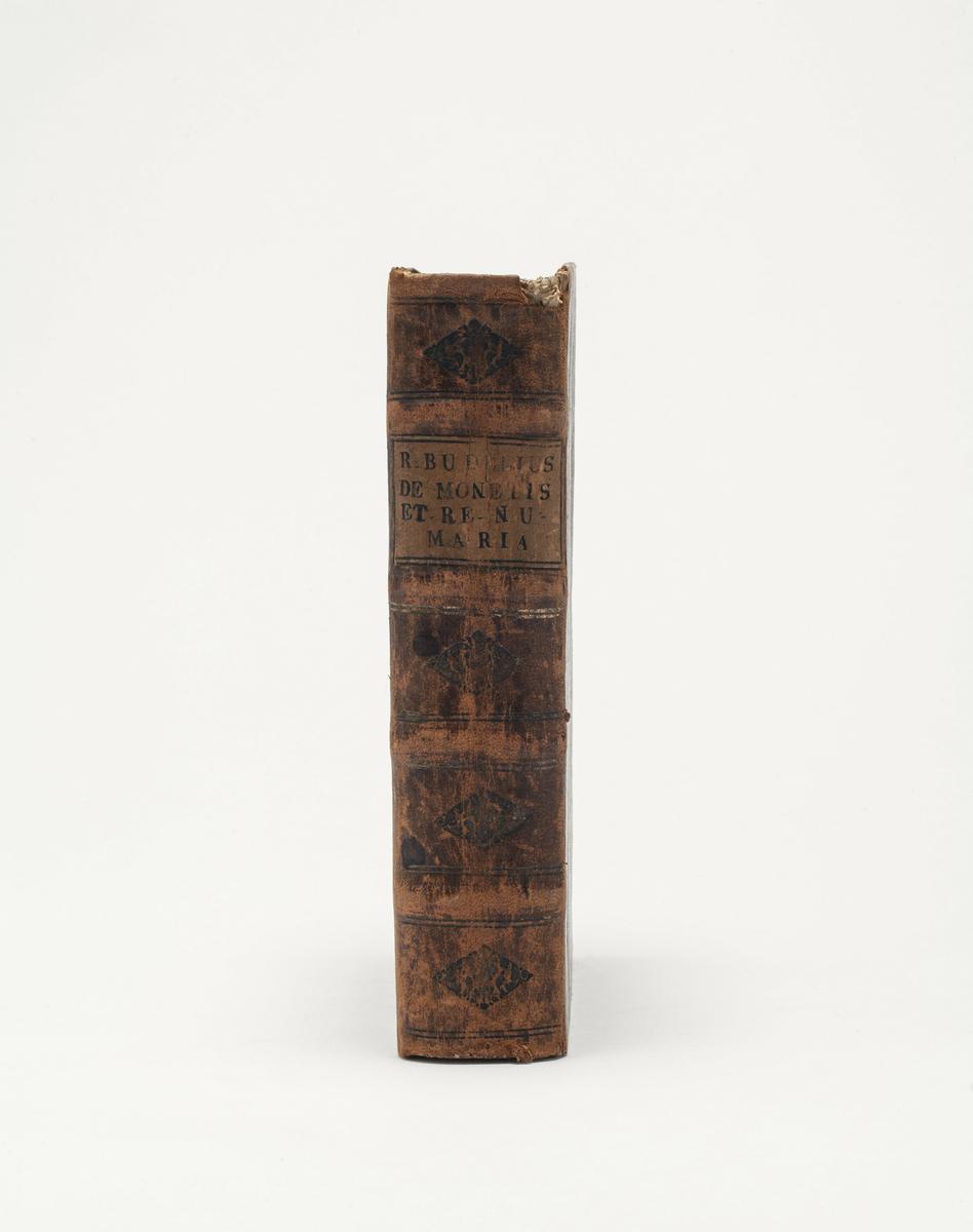Bok. De manetis et re numari, Köln 1591.