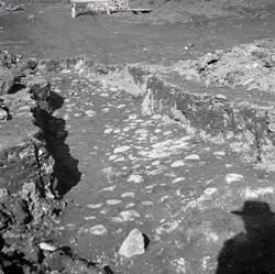 Utgrävning i  Gamla staden. Kungsgatans nya område i Krusens