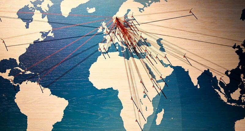 Vår felles verdensarv - kartet