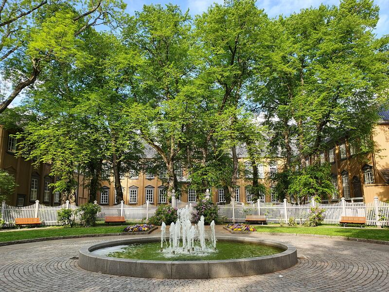 Stiftsgårdsparken Foto: NKIM (Foto/Photo)