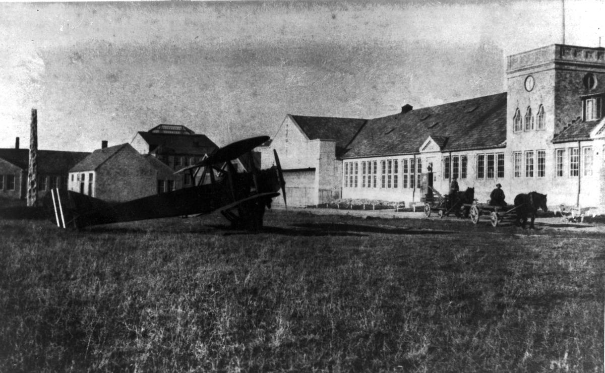 F.F.9 Kaie på Kjeller.