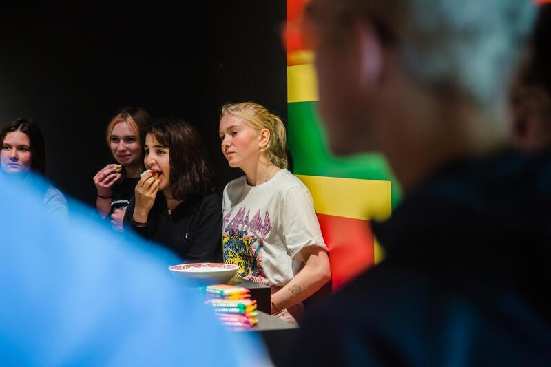 Ung i debatten blir til i samarbeid med Valdres vidaregåande skule og romar både undervising, omvising, rollespel og foredrag. (Foto/Photo)