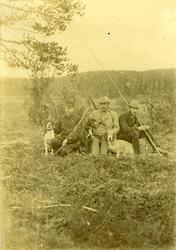Jakt og fiskelag Gruppebilder, navngitte