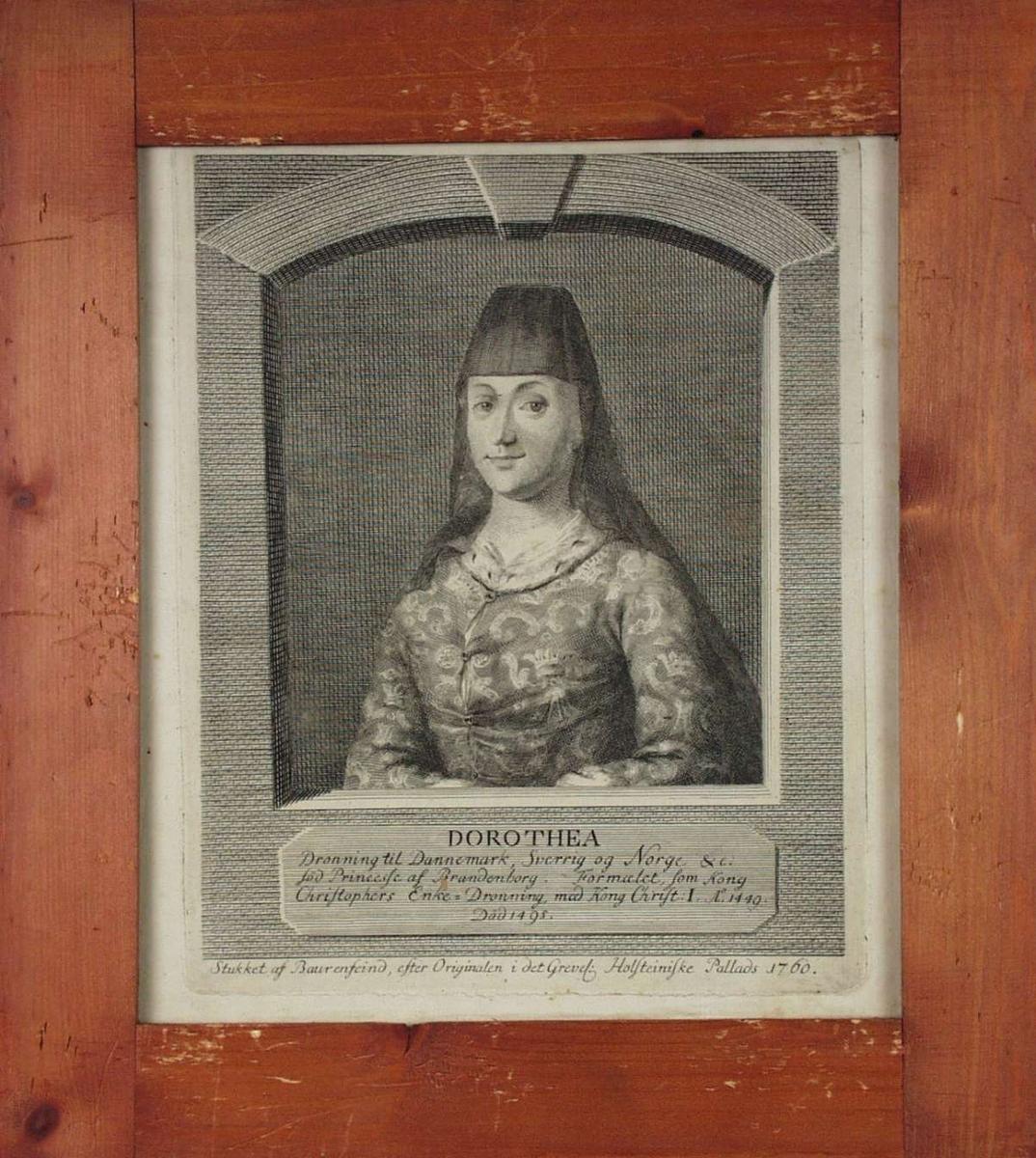 Portrett av Dronning Dorothea.