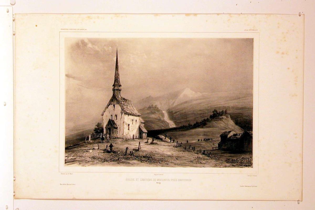 Melhus kirke og kirkegård