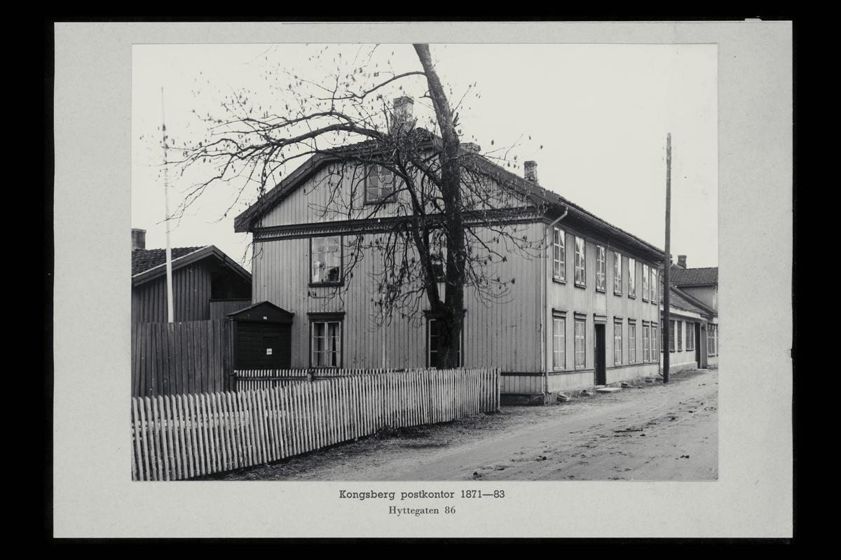 eksteriør, postkontor, 3600 Kongsberg