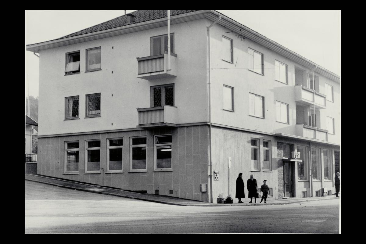 eksteriør, postkontor, 1440 Drøbak, postskilt
