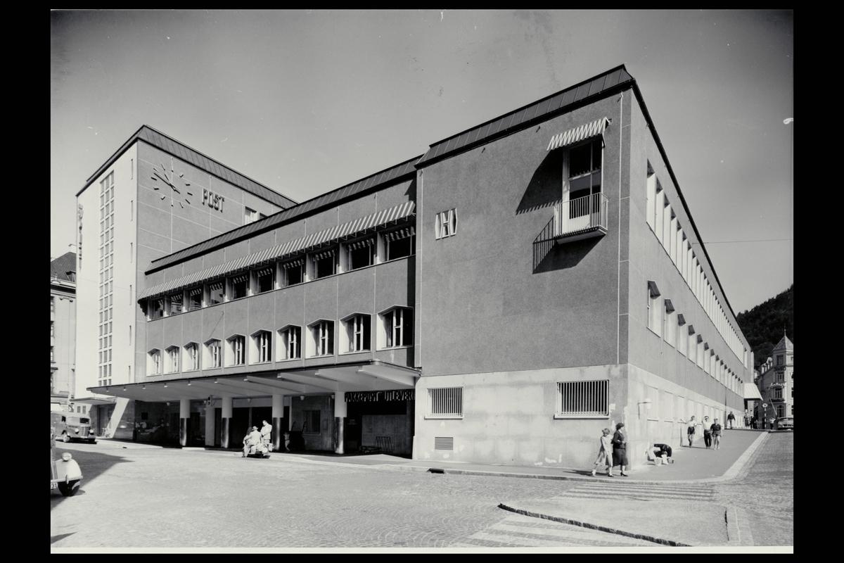 eksteriør, postkontor, 5002 Bergen