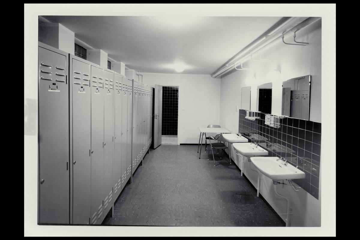interiør, postkontor, 3200 Sandefjord, garderobe