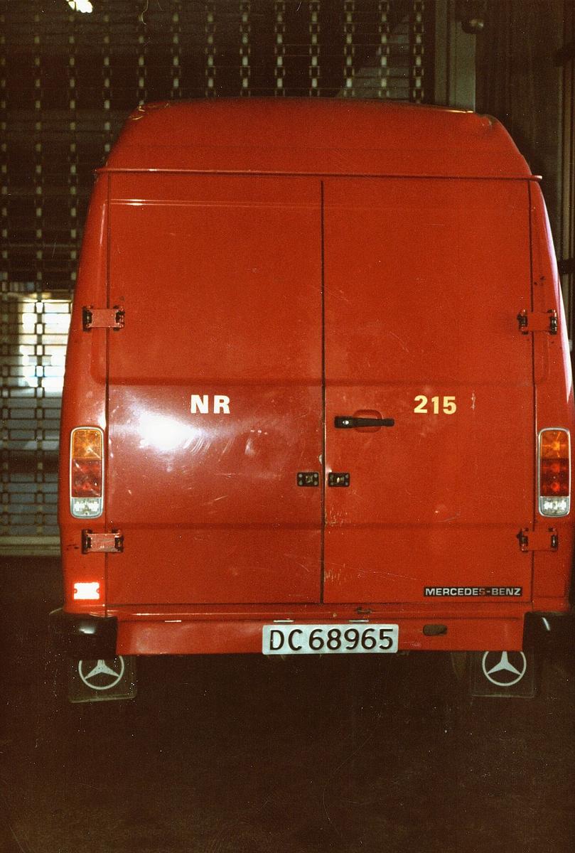 transport, bil, postbil, Mercedes