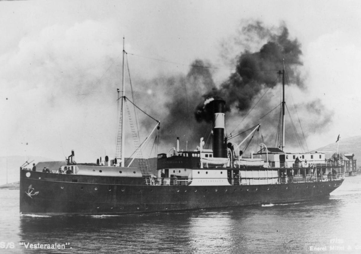 transport båt, eksteriør, Vesteraalen