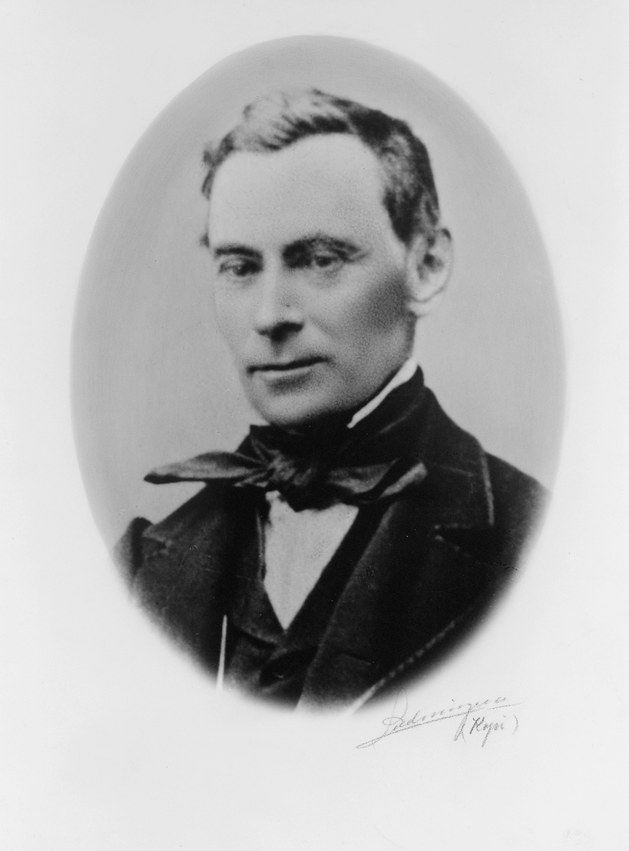 portrett, postmester, Herman Nicolai Classen Roosen