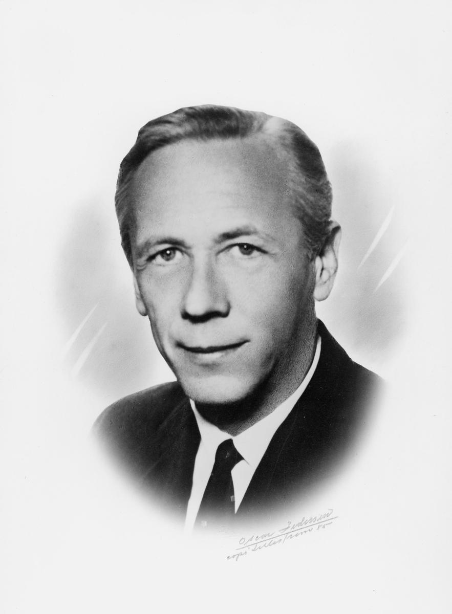 postmester, Broch Ole Johan Frithland, portrett