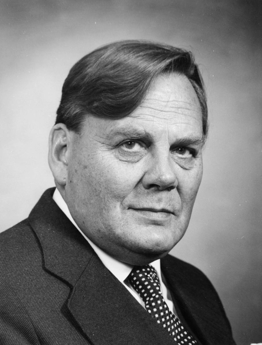 postsjef, Bævre Jens Henrik, portrett
