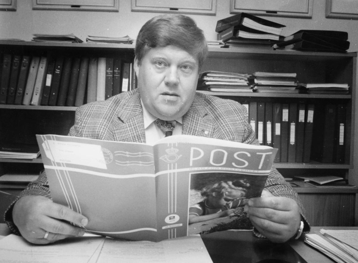 personale, Oslo, administrerende direktør, Bjørn Flage Pettersen, kontor