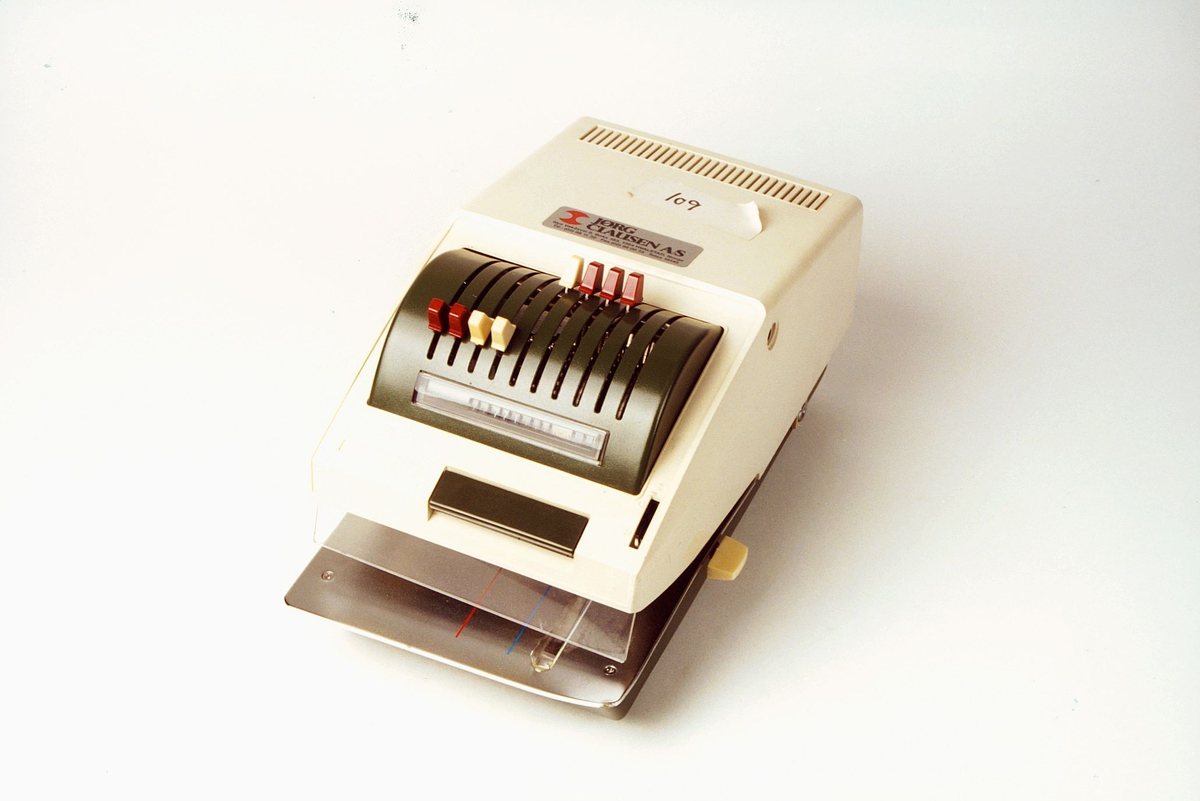 Postmuseet, gjenstander, sikringsmaskin, Nippo EL5, 1B5010008.