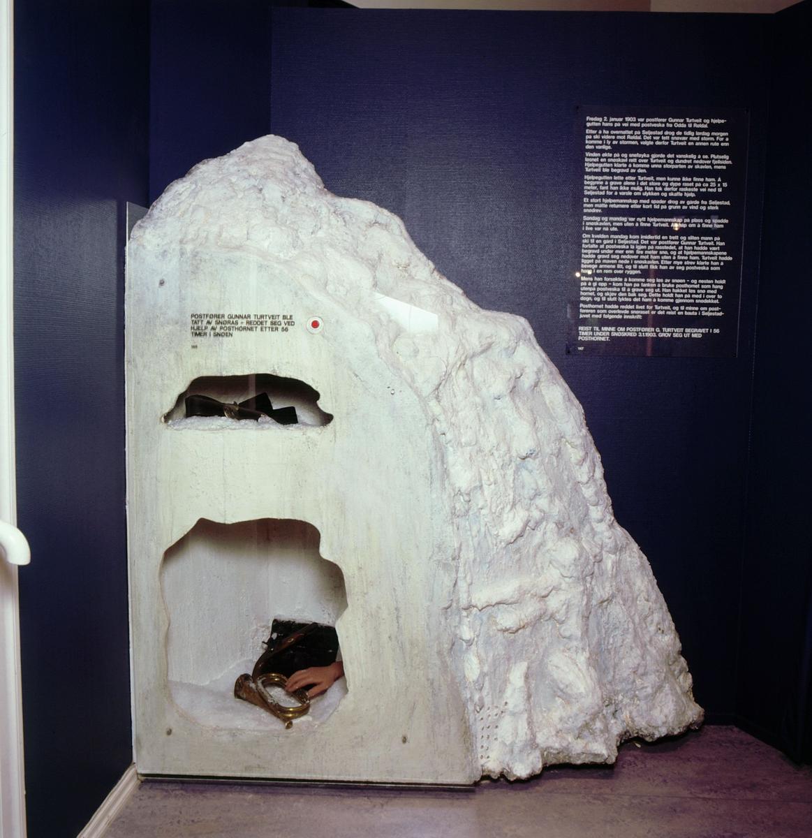 postmuseet, Kirkegata 20, utstilling, Gunnar Turtveit