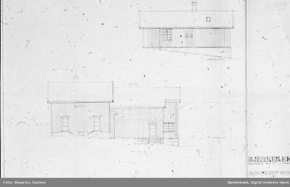 Hustegninger, fasadetegninger