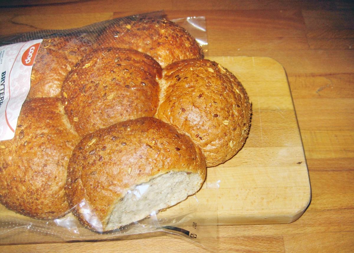 Motivet på brødposen er silhuettermønstre