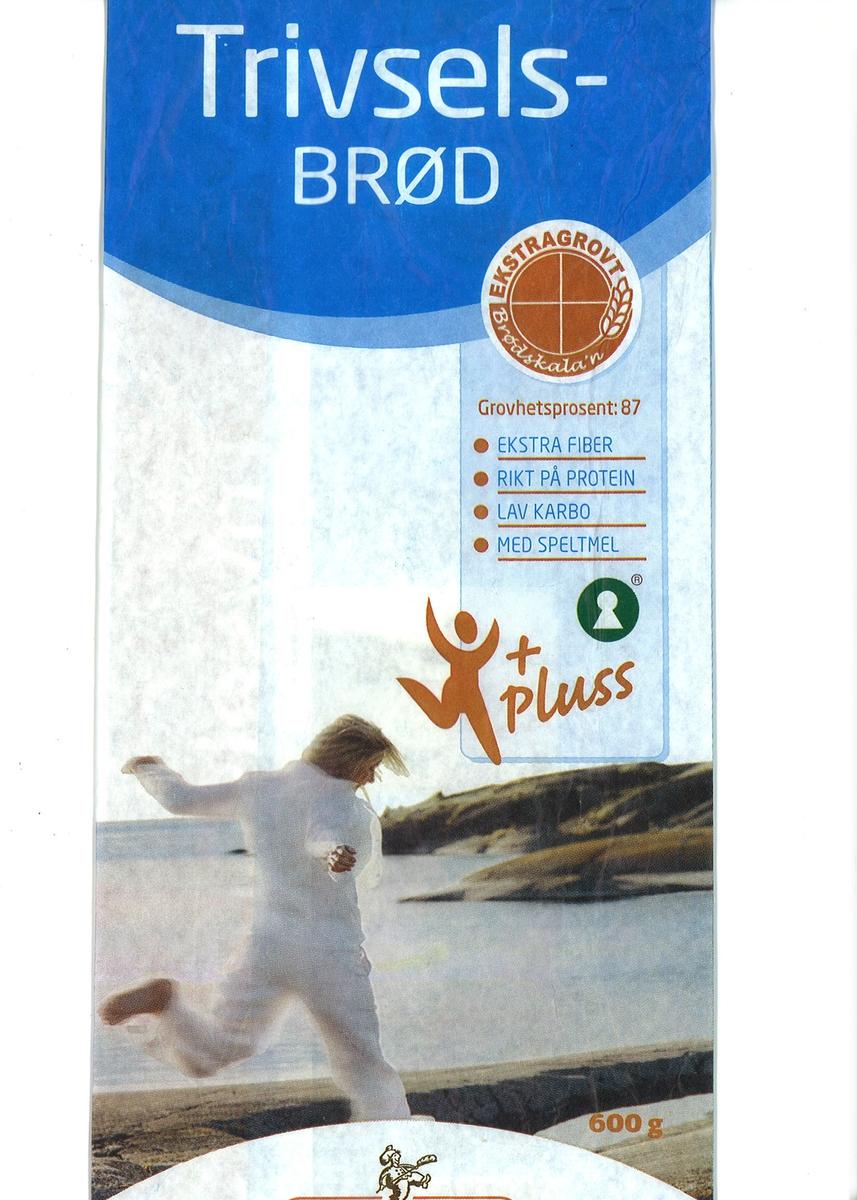 Motivet på posen er en kvinne som løper på svaberg ved kysten. Kvinnen er kledt i lette hvite sommerkler. I bakgrunnen av bildet ses svaberg.