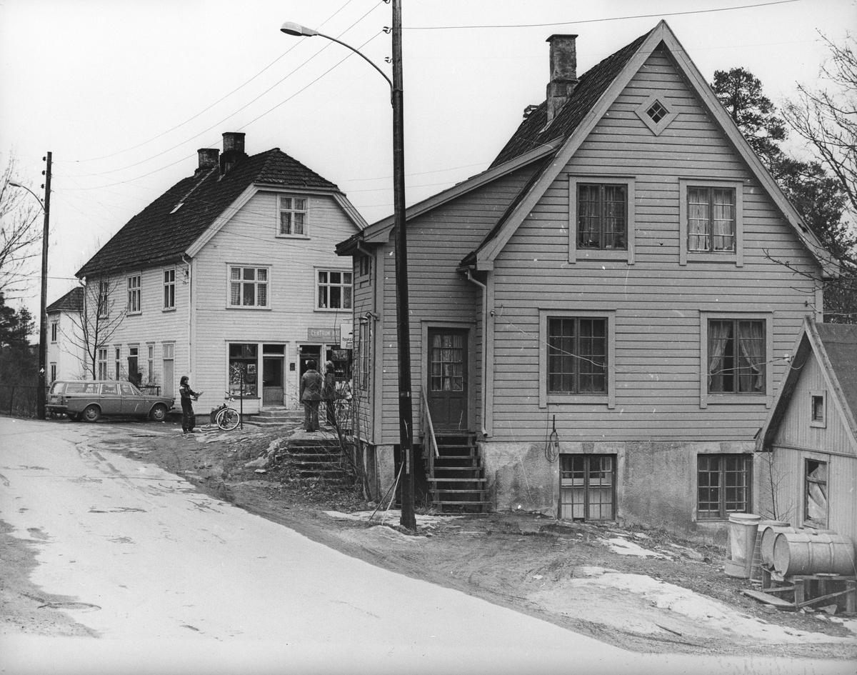 Setrumsbutikkene i Oppegård Syd Bildet tatt i 1982.