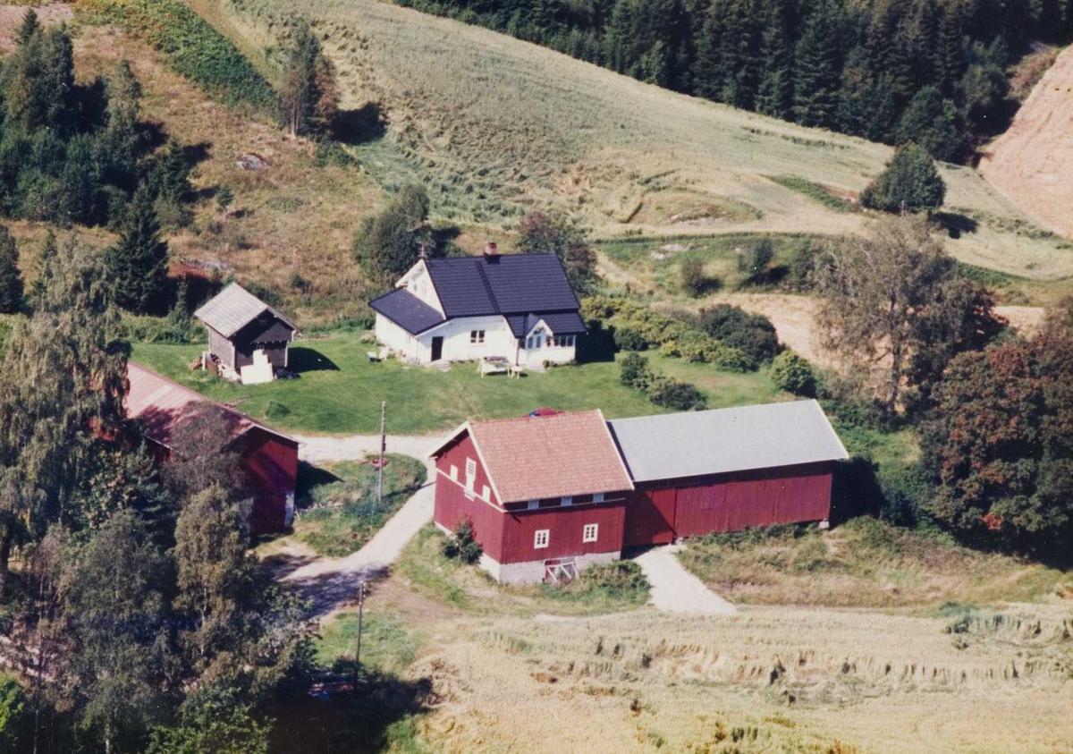Flyfoto av  Sandskrok i Aurskog-Høland