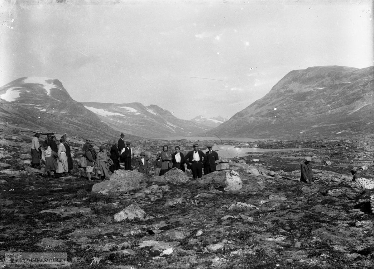 Sandgrovbotn, på vei til stevne..(Edvard var i Amerika fra april 1896 til desember 1910)