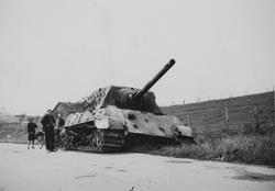 Tysk stridsvogn.