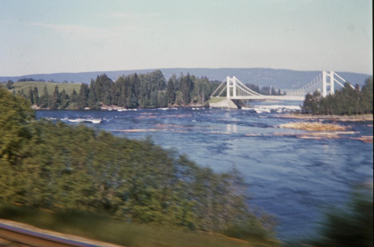 Utsikt mot Bingsfossen fra Tertitten.