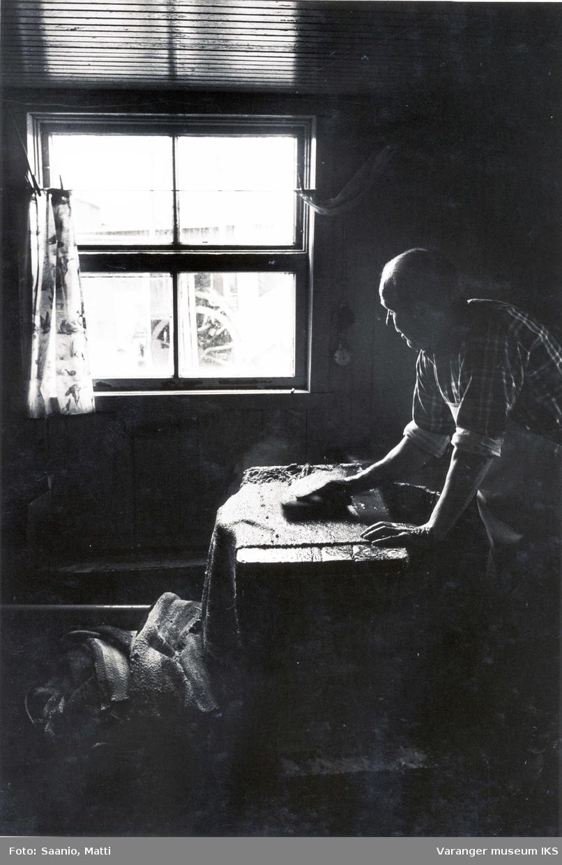Alf Tuomainen vasker ryer 1977