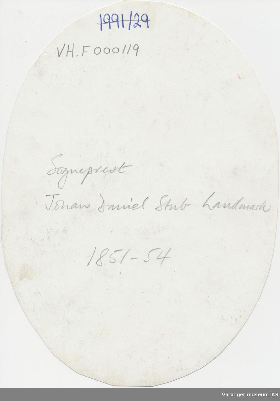 Portrett, Johan Daniel Stub Landmark