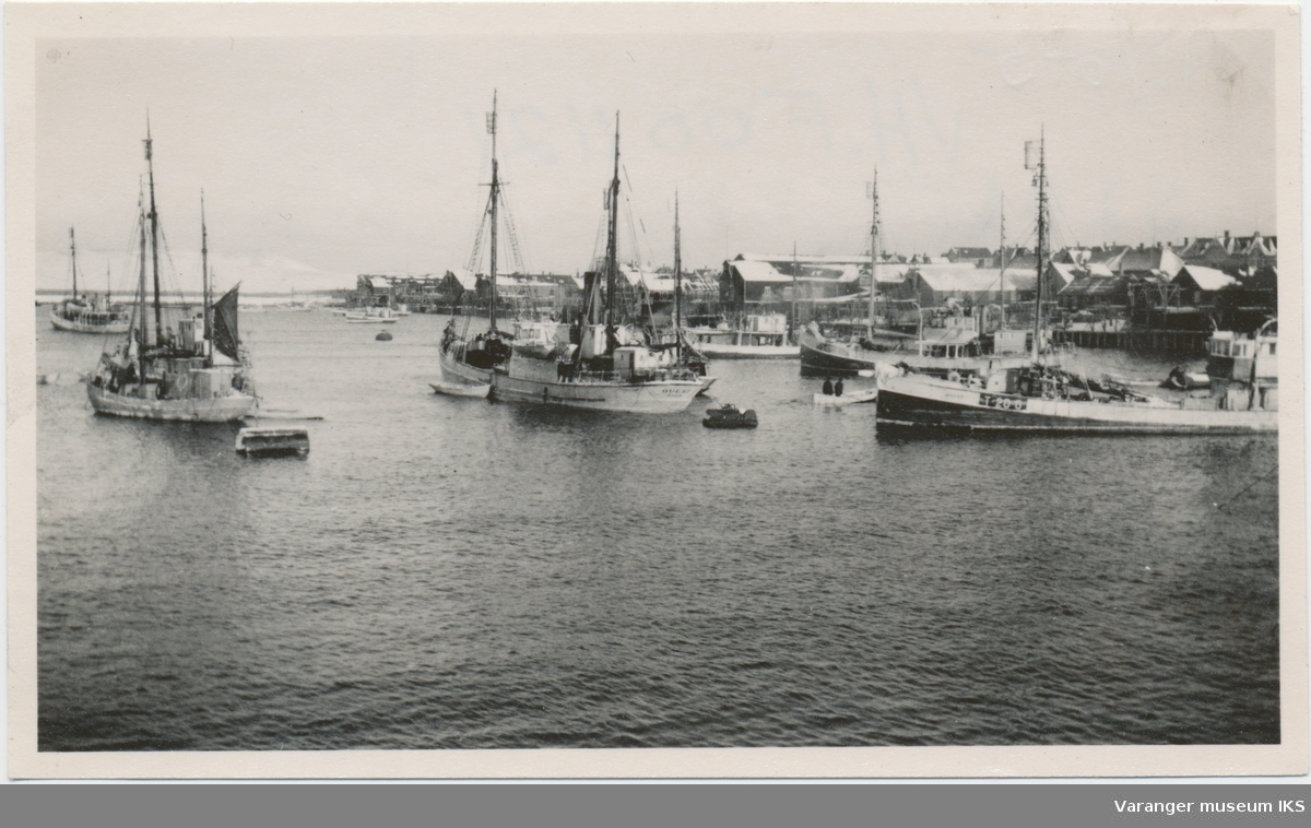 Hvalbåter og fangstbåter i Nordre Våg