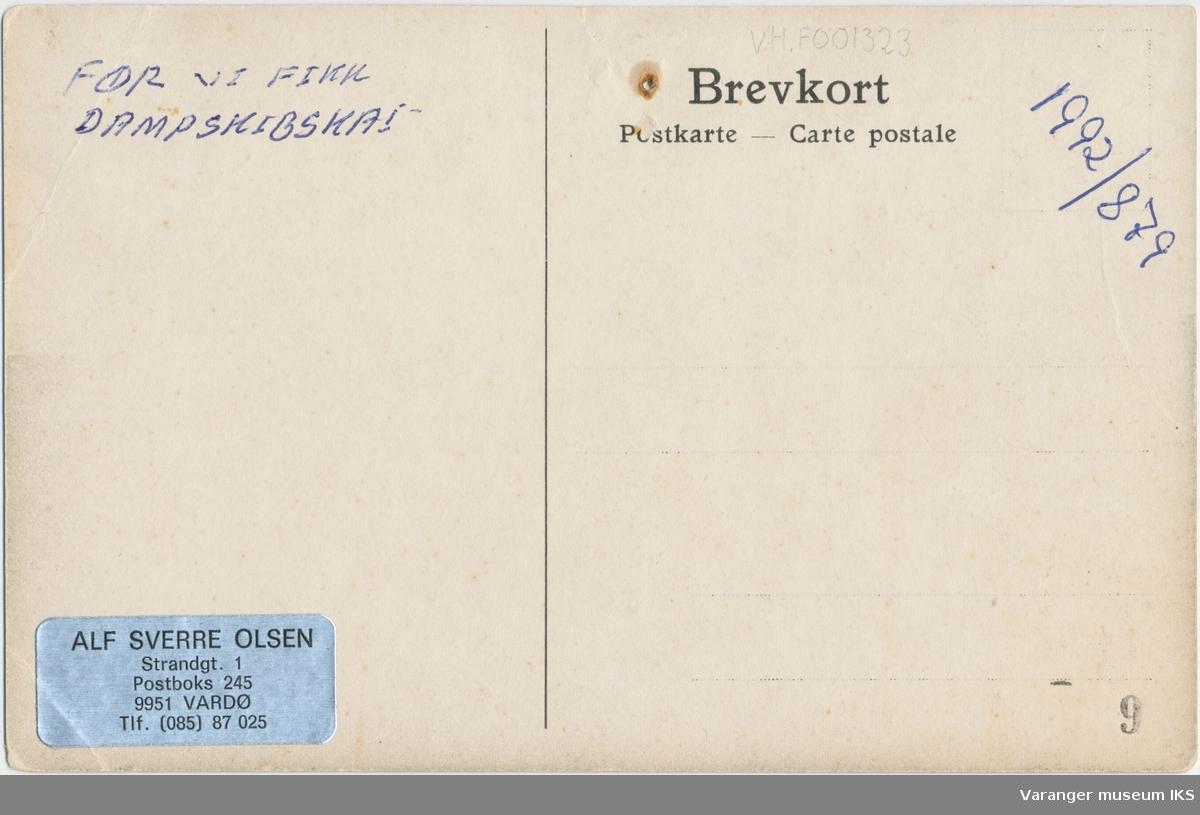 Postkort, Nordre Våg ca. 1900