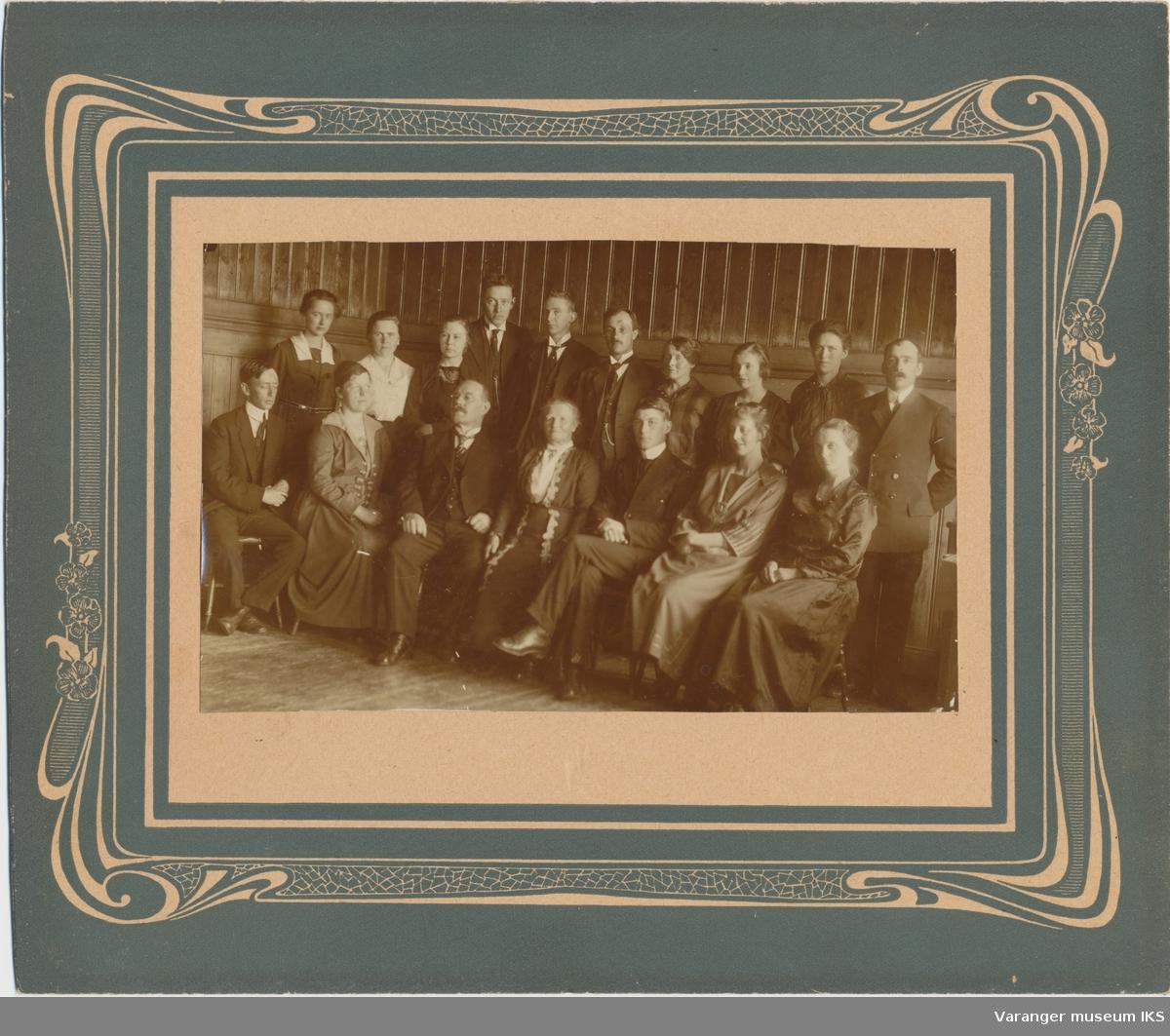 Lærere ved Vardø barneskole, tidlig 1920-tall