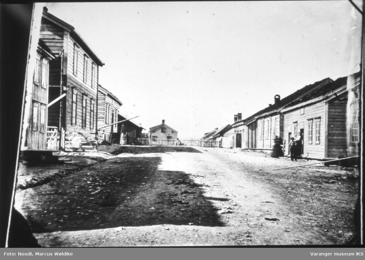 Inngangen til Vardøhus Festning, sett fra Festningsgata
