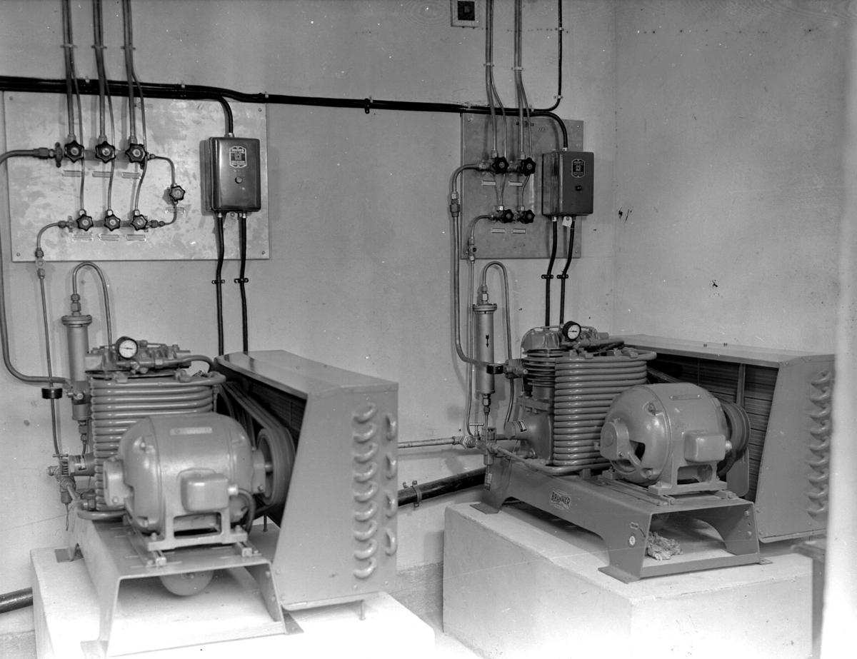 Maskineri på en slakteri