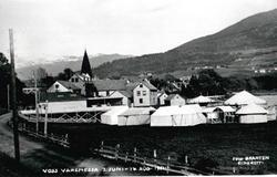 Voss varemessa, oversiktsbilete over utstillingsområdet
