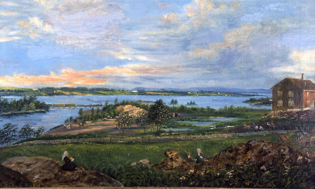 Kunst. Maleri av Mathias Stoltenberg. (født 1799, død 1871) Maleri ...