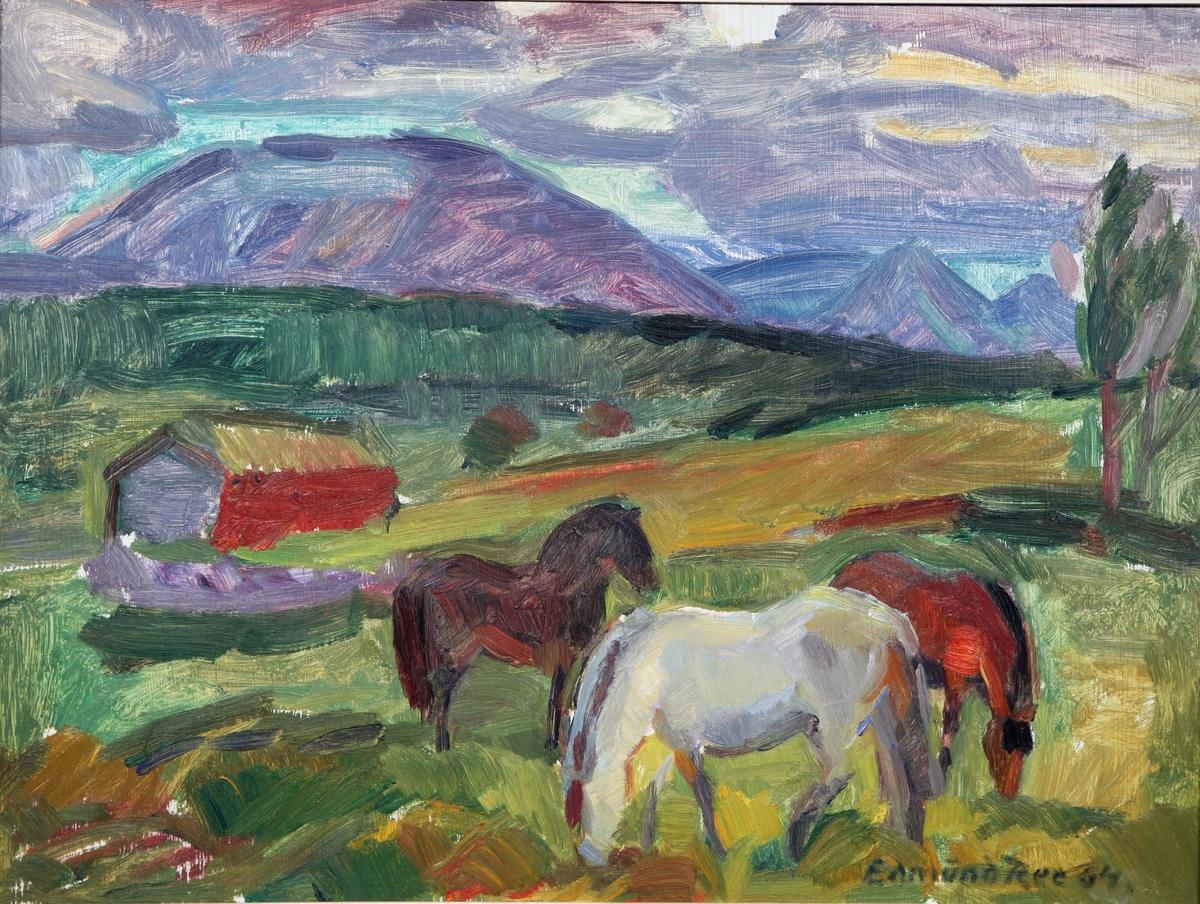 Hester i fjellet