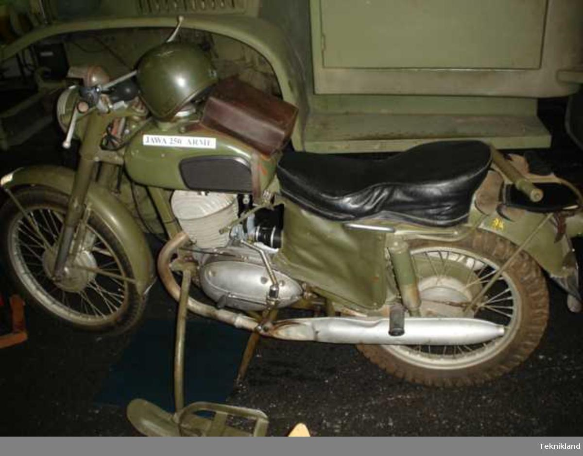 Fordonet är deponerat från Flygvapenmuseum.