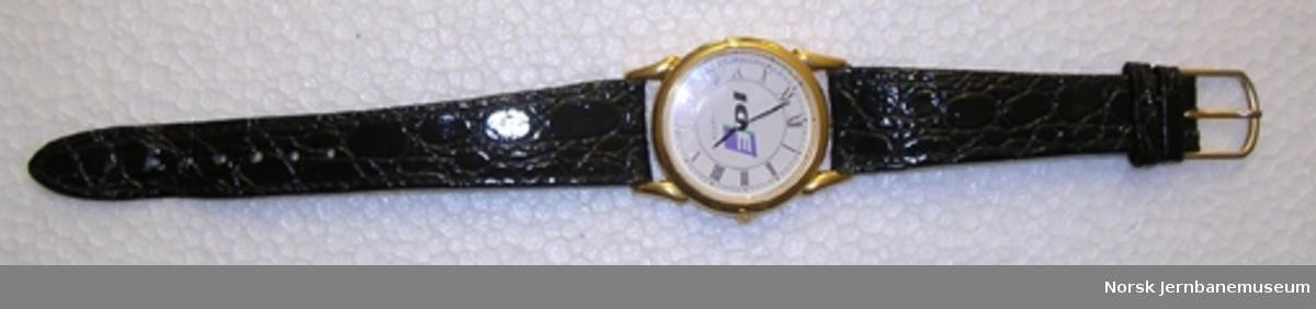 Armbåndsur med ICE-logo
