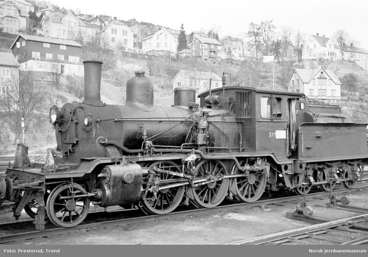Damplokomotiv type 21c nr. 377