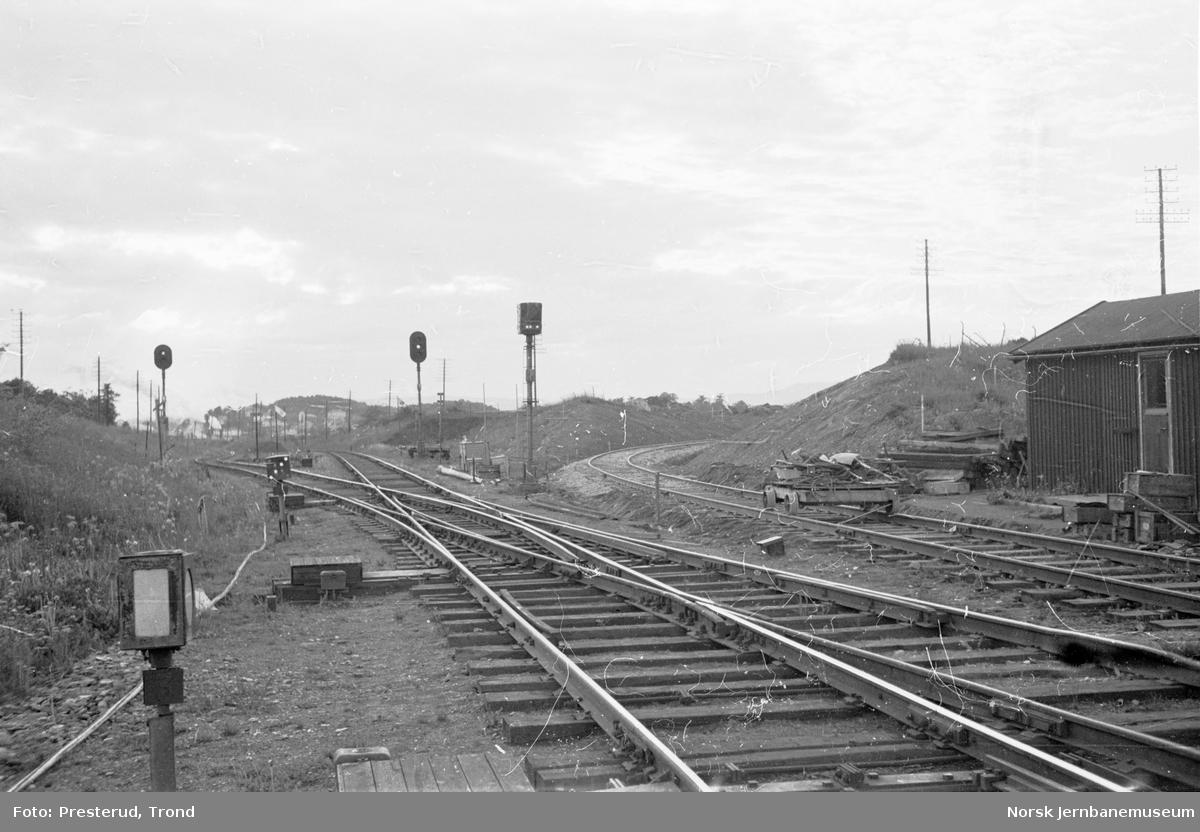 Leangen stasjon, nytt Lade industrispor